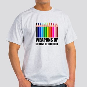 Weapons of Stress Reduction Coloring T-Shirt